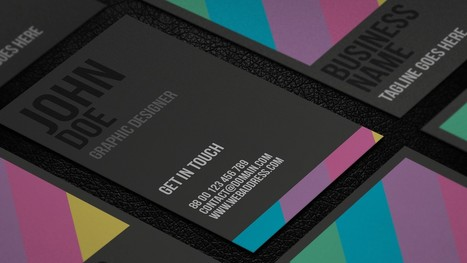 Giveaway: 8 Free Business Card Templates to Boost Your Business | Web Design | Scoop.it