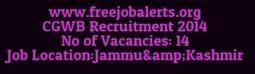 CGWB Recruitment 2014 for Technical Operators cgwb.gov.in | careerit jobs | Scoop.it