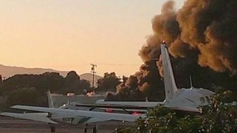 No survivors after plane hits hangar at Santa Monica Airport | Social Studies Education | Scoop.it