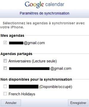 Astuce : synchroniser Google Agenda avec votre iPhone   Le Geek Pauvre   Je, tu, il... nous !   Scoop.it