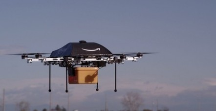 Amazon plans to deliver packages via drones within the next 4-5 years [Video] | MarketingHits | Scoop.it