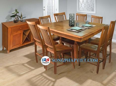 Bộ bàn ghế + tủ rượu SPV535T | bo ban ghe, tu ruou | Đồ Gỗ Song Pháp Việt | Hello coopit | Scoop.it