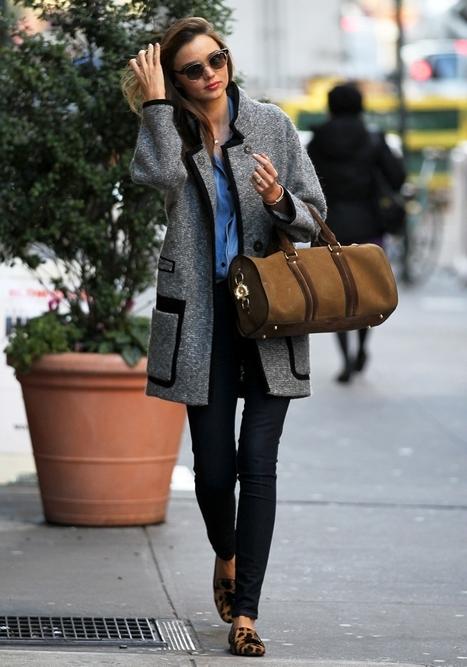 Miranda Kerr off duty in NY   Freedom...   Scoop.it