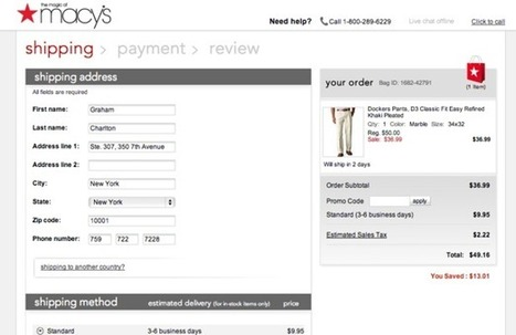 10 tips for improving ecommerce checkouts | Ecommerce | Scoop.it