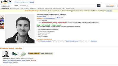 Son CV à la manière d'une page Amazon fait le buzz | Une aiguille si…isolée | Scoop.it