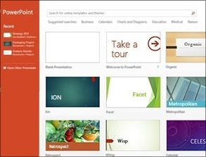 What's new in PowerPoint 2013 | immersive media | Scoop.it