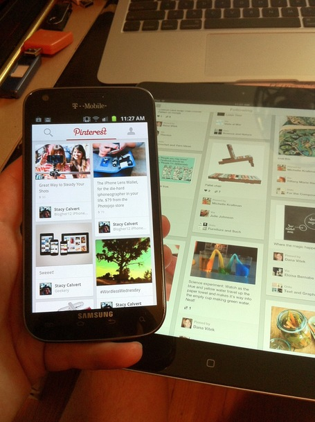 Hands-on: major Pinterest app update for iPhone, iPad, Android | App-Centric Web | Scoop.it