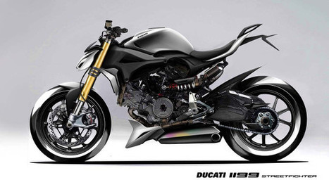 Ducati 1199 Streetfighter Concepts by Shantau Jog | Ductalk Ducati News | Scoop.it