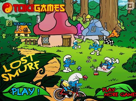 Lost Smurf | cartoon mini | Scoop.it