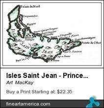 MAPS & CHARTS: Isles Saint Jean, Acadie 1774 (PEI) | The Nature of Art | Scoop.it