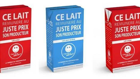 Le lait au prix fixé par les consommateurs arrive chez Carrefour - Le Figaro | Le Fil @gricole | Scoop.it