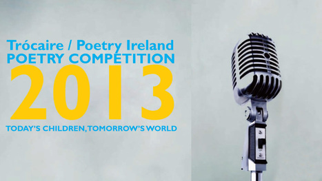Trocaire Poetry Competition 2013 – video: winners poems | The Irish Literary Times | Scoop.it