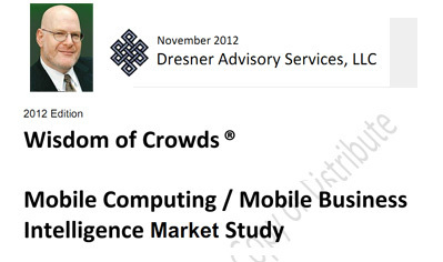 Mobile Tsunami II - Dresner's Wisdom Of Crowds Mobile BI Report Summary | BI Revolution | Scoop.it