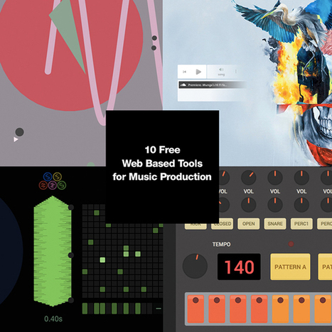 10 Free Web Tools for Music Production w/ Dan Salvaggio | Dubspot | Edtech PK-12 | Scoop.it
