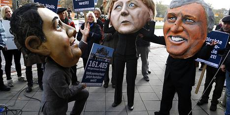 Les Sociaux-démocrates allemands renoncent à infléchir la politique européenne de Berlin | Intervalles | Scoop.it