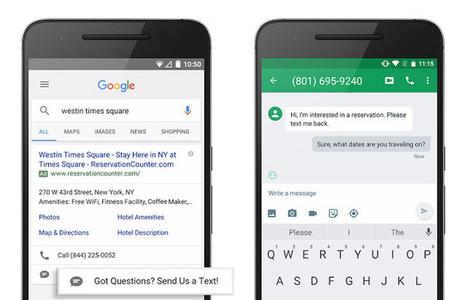 SMS Direct : un nouveau format AdWords pour envoyer des SMS via les résultats sponsorisés - Blog du Modérateur | playtheworld | Scoop.it