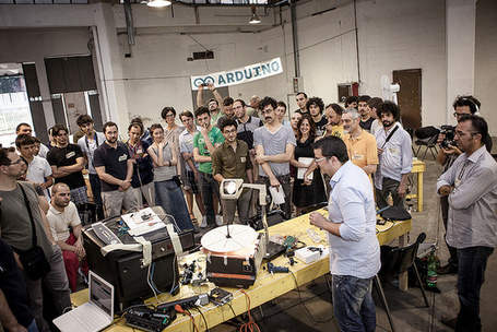 Visual Report Arduino Camp Italia – Let's hackaton | Raspberry Pi | Scoop.it