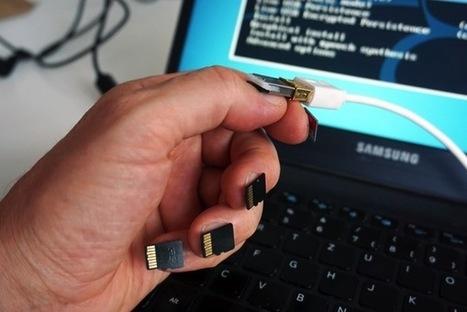 Uñas para la era de Snowden: la información (offline) en la punta de los dedos | LabTIC - Tecnología y Educación | Scoop.it