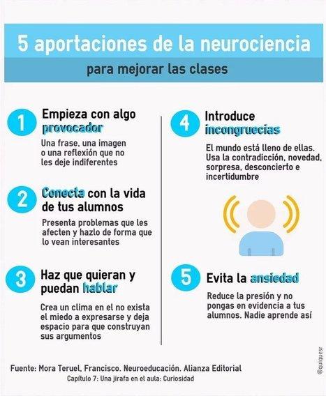 APORTACIONES DE LA NEUROCIENCIA PARA MEJORAR LAS CLASES   Educación Superior   Scoop.it