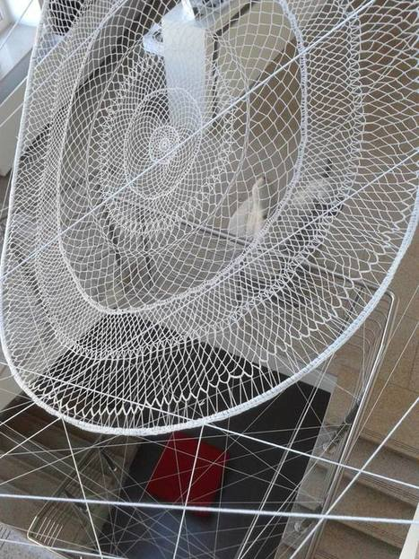 Joanna Biskup and Agnieszka Kucharska: textile installation | Art Installations, Sculpture, Contemporary Art | Scoop.it