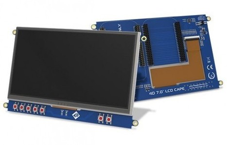 4D Systems displays will give a cape to your BeagleBone | Raspberry Pi | Scoop.it