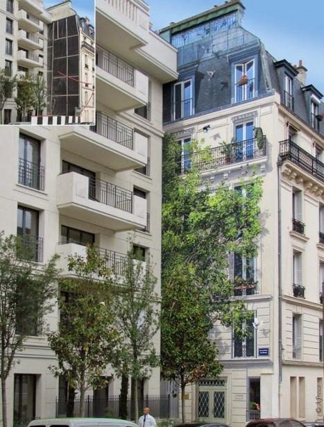 The Incredibly Realistic Painted Frescoes of Patrick Commecy   Architecture et Urbanisme - L'information sur la Construction Paris - IDF & Grandes Métropoles   Scoop.it