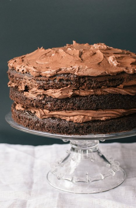 Essential Recipe:  Chocolate Layer Cake   Recipes from The Kitchn | Writer, Book Reviewer, Researcher, Sunday School Teacher | Scoop.it