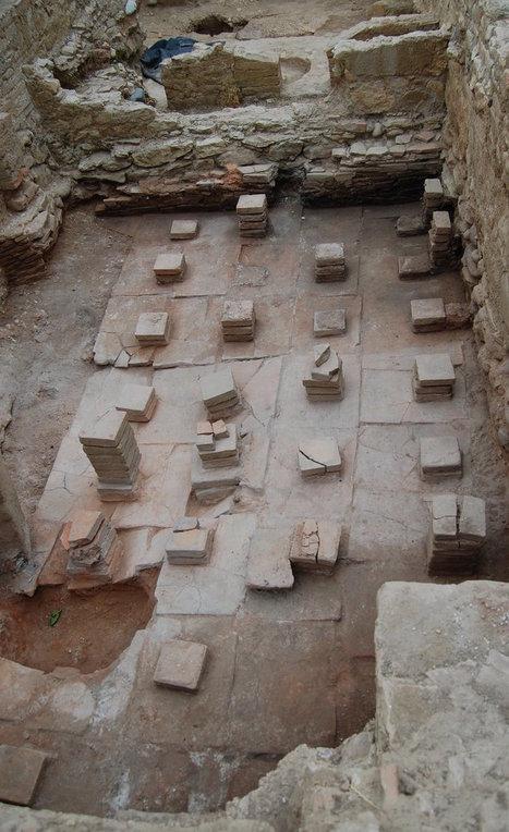 Els arqueòlegs troben un conjunt termal al Pla de l'Horta | LVDVS CHIRONIS 3.0 | Scoop.it