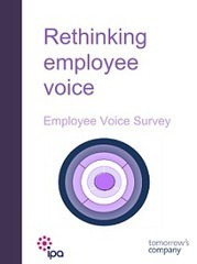 Rethinking Employee Voice: Employee Voice Survey - IPA | Social Media Resources & e-learning | Scoop.it
