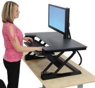 Sit-stand workstations in the UK | Inclusive | Scoop.it