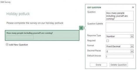 Microsoft no iba a ser menos con las encuestas online: llega Excel Surveys para SkyDrive | E-Learning, M-Learning | Scoop.it