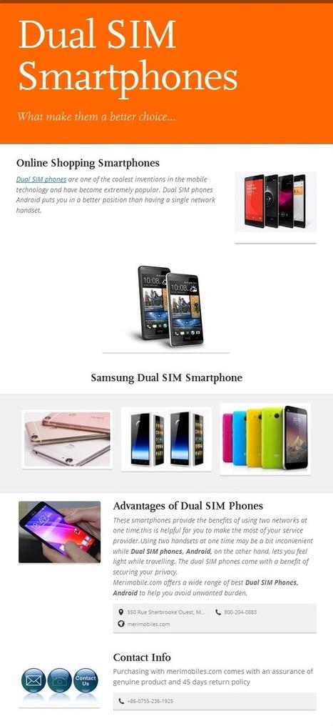 Dual SIM Phones Android   Mobile Accessories   Scoop.it