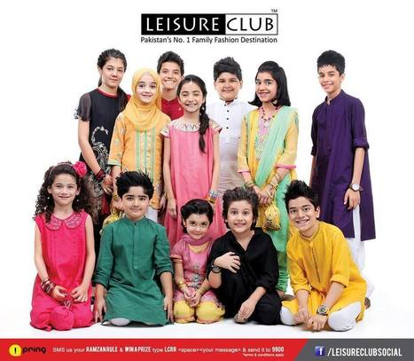 Leisure Club Latest Eid Dresses 2013 for Men, Women and Kids | stylostyle | Scoop.it