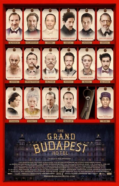 Grand Budapest Hotel : l'hommage de Wes Anderson à Stefan Zweig | BiblioLivre | Scoop.it