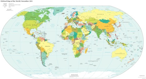 Lies Your World Map Told You: 5 Ways You're Being Misled | AP Human Geography Education | Scoop.it