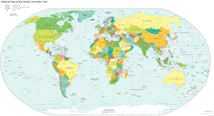 Lies Your World Map Told You: 5 Ways You're Being Misled | Cultural History | Scoop.it