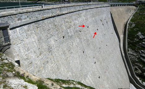 What Are Those Objects On The Dam Wall? You Have Got To Be Kidding | Global Awareness & The World Around Us | Scoop.it
