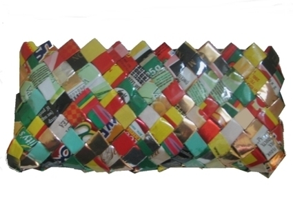 Purses Made From Recycled Food Packaging   scatol8®   Scoop.it