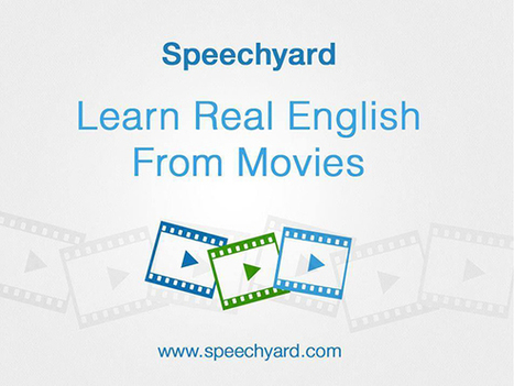 Speechyard: aprende inglés mirando películas | E-Learning, M-Learning | Scoop.it
