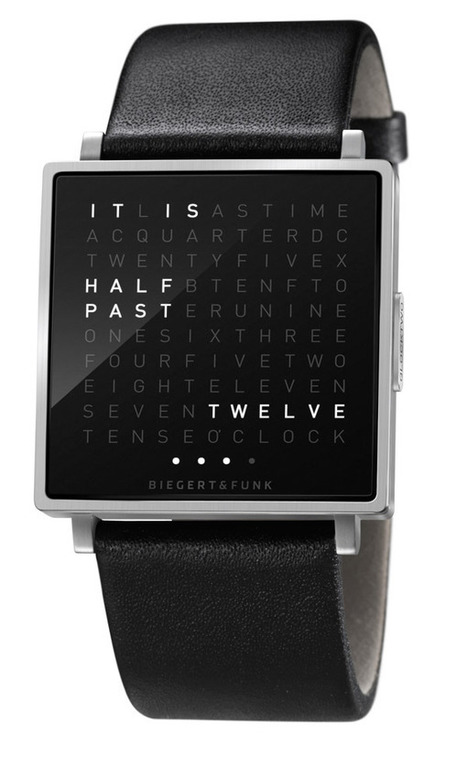 QLOCKTWO BY BIEGERT & FUNK | Digital design - for learning & consuming | Scoop.it