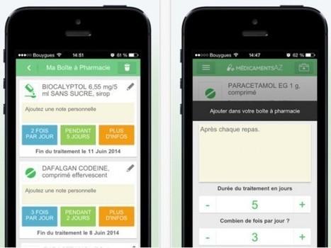 [Bon App'] Medicaments AZ, pour mieux gérer sa prise de ... - Frenchweb.fr   Community Management et Curation   Scoop.it