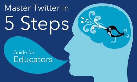 Master Twitter in 5 Steps - An Educator's Guide | Tech, games and art in education | Scoop.it