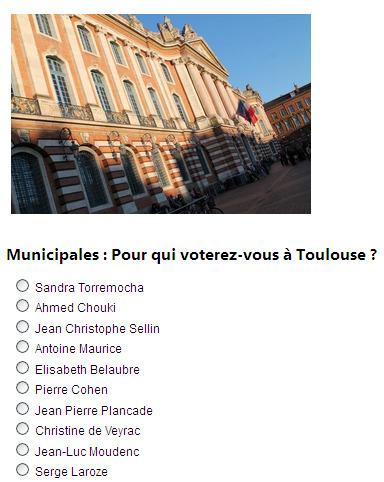[Sondage] Municipales : Pour qui voterez-vous à Toulouse ? | La lettre de Toulouse | Scoop.it