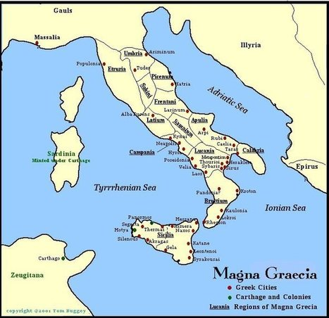 ITALY - Magna Graecia: Ancient Greek Cities... - awakening for all ... | Ancient Origins of Science | Scoop.it
