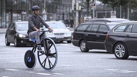 """Concept e-bike """"Concept 1865-Rethinking Materials"""" 