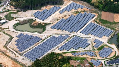 Japan is building SOLAR energy plants on abandoned golf courses—and the idea is spreading | URBANmedias | Scoop.it
