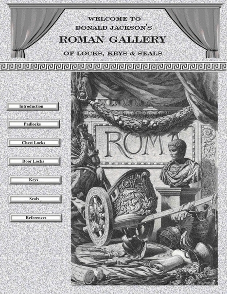 Roman Locks | Latin.resources.useful | Scoop.it