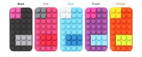 Un étui pour iPhone 4 inspiré de pièces de Lego | mobile | Scoop.it