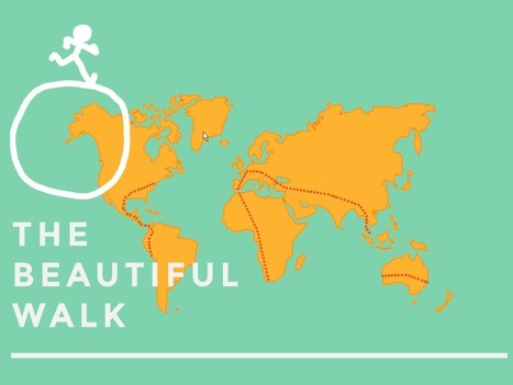 Votre course autour du monde | The Beautiful Walk | Trucs et astuces du net | Scoop.it