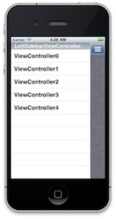 JTRevealSidebarDemo | iPhone and iPad development | Scoop.it